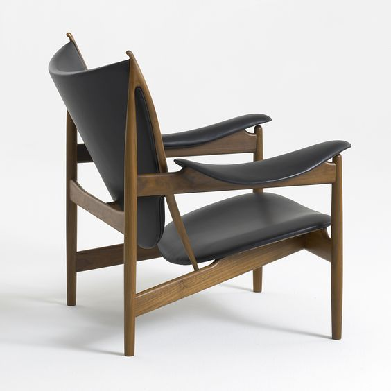 Chieftains Chair by the late Danish designer Finn Juhl.