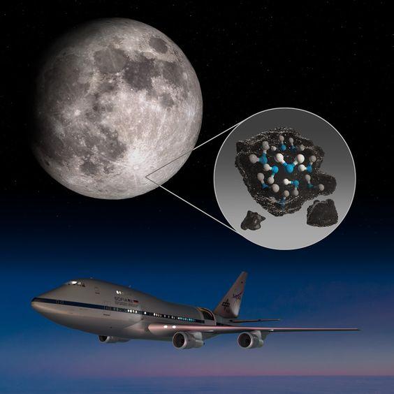 SOFIA Descubre Agua en la Superficie de la Luna Iluminada por el Sol :: NASA EN ESPAÑOL