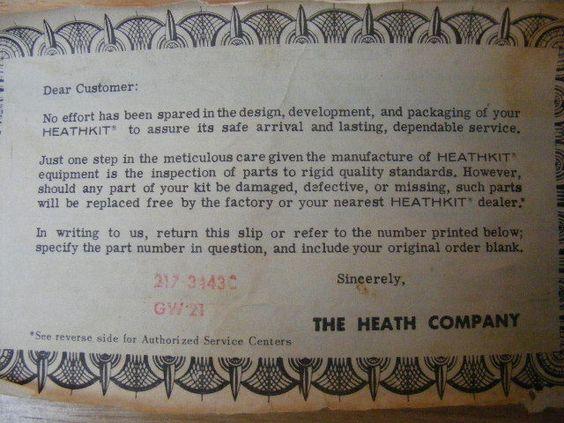 Vintage Heathkit GW-21 Walkie Talkies 1962 in original boxes