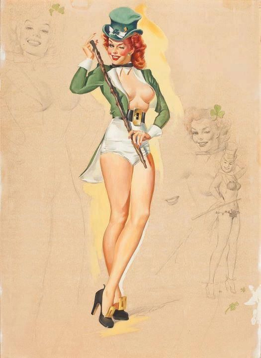 irish pin up!