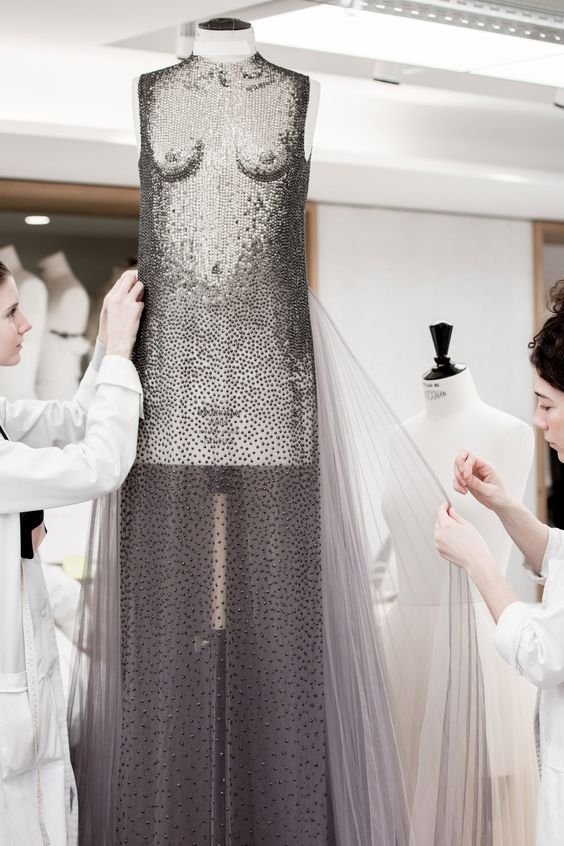 Behind the Scenes of Dior's Surrealist Couture Collection