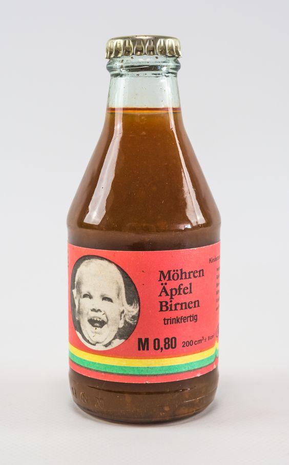 """DDR Museum - Museum: Objektdatenbank - """"Kinderzusatznahrung"""" Copyright: DDR Museum, Berlin. Eine kommerzielle Nutzung des Bildes ist nicht erlaubt, but feel free to repin it!"""