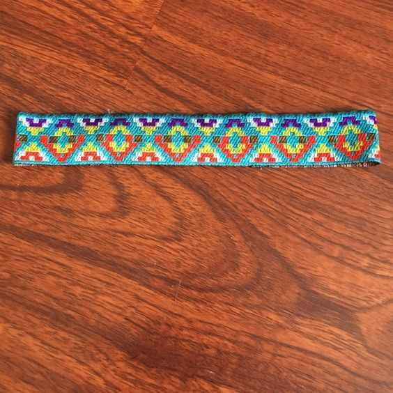 Multicolored headband DETAILS: onlyworn a few times - still in perfect condition! Pet & smoke free home! Accessories Hair Accessories