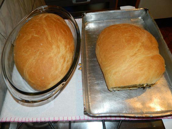 2 ovos  - 1 colher (sopa) de sal  - 1 envelope de Fermix (10g)  - 3/4 de xícara (chá) de óleo  - 1 kg de farinha de trigo (mais ou menos)  - 3 xícaras de água morna  -