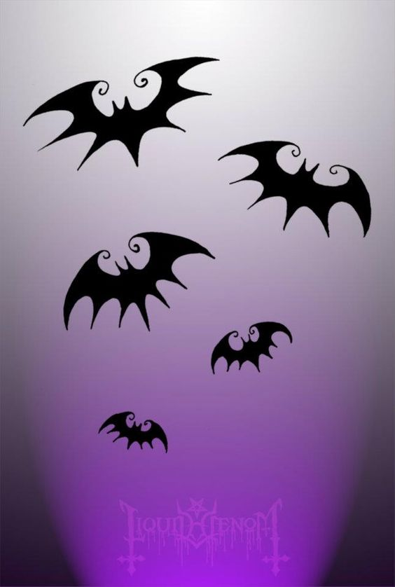 Nightmare Before Christmas Bats <3 | ink me | Pinterest ...