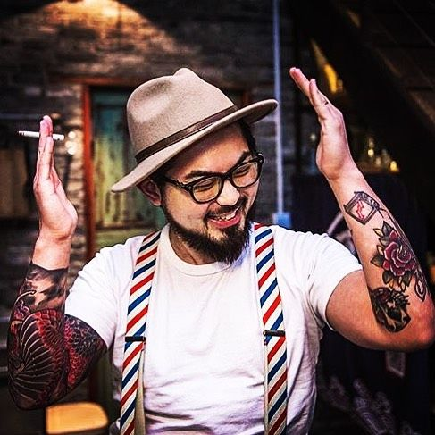 Put Your Hat On And Get Ready To Do What You Love Shout Out To Kimthebarber Our Wiseguy In China Suspenders Suspenders Men Fashion Vintage Suspenders