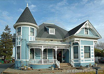 Vieille maison victorienne, California