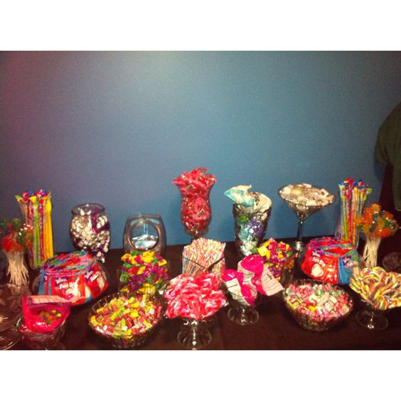 Quinceanera Candy Table   Jazmine Quinceanera inspiration ...