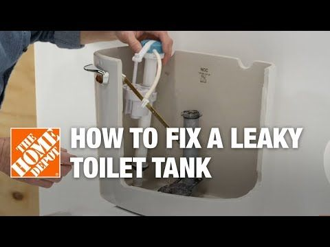 Fixing A Leaky Toilet Is An Easy Task Follow This Home Depot Step By Step Guide To Repair A Leaking Toilet Tank Leaky Toilet Toilet Tank Leaking Toilet