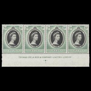 Fiji 1953 (Imprint) 2½d Coronation