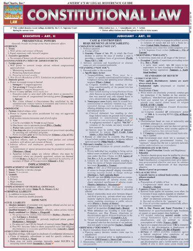 Essay constitutional law