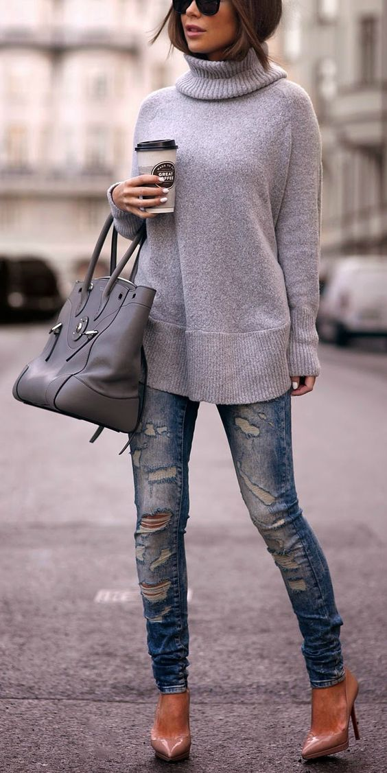Gray. I know it's summer but Fall is around the corner! [ SkinnyFoxDetox.com ]: