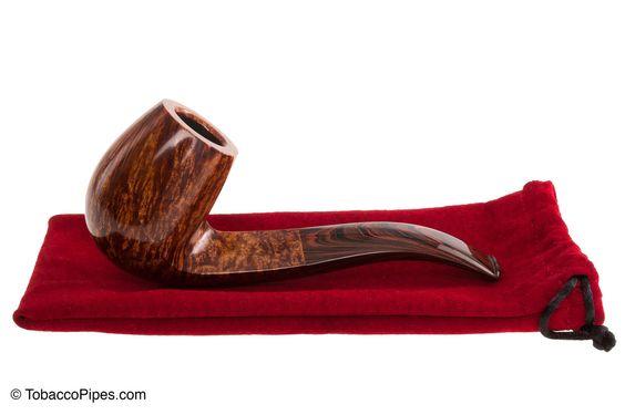 Silver Gray Pipes Eskimo Billiard Tobacco Pipe - TP3427