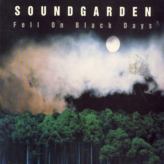 Soundgarden – Fell on Black Days (single cover art)