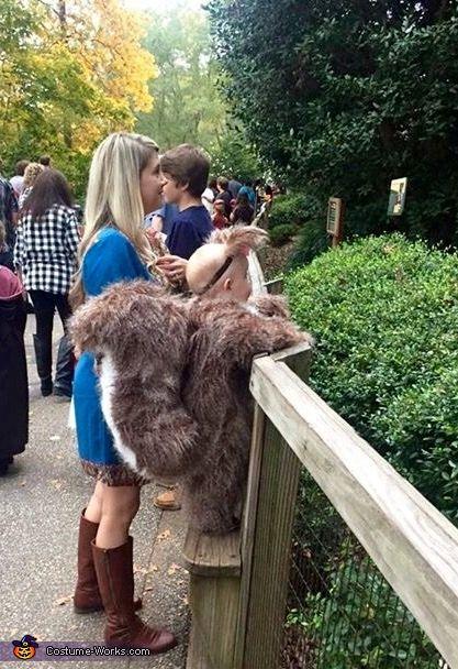 Baby Squirrel Costume - Halloween Costume Contest via @costume_works