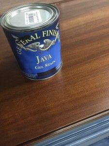 White Lime Spray Wax Java Gel Stain   Tracey's Fancy