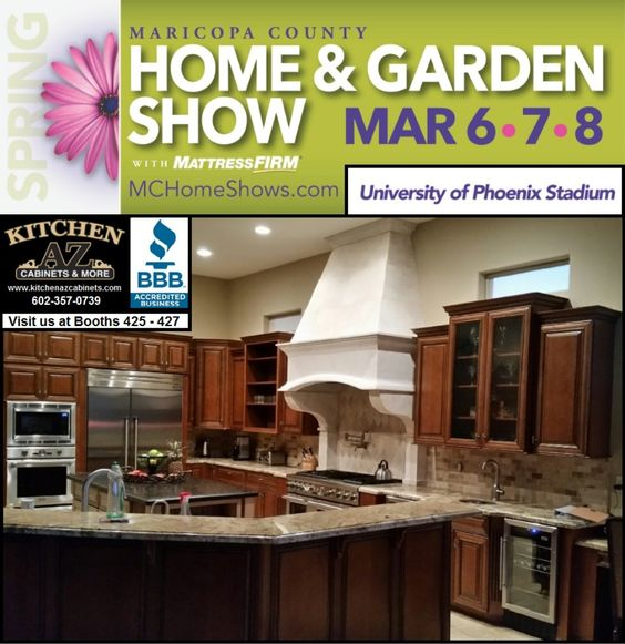 Kitchen Cabinets Phoenix Home And Garden Show Mar 6 8 2015