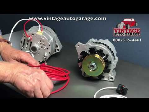 Alternator Connection How To Connect Plug And Output Wire Youtube Car Alternator Alternator Alternator Repair