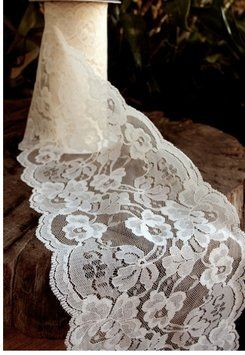60 Feet Of Ivory Lace Never Used https://www.tradesy.com/weddings/wedding-decorations/60-feet-of-ivory-lace-never-used-995779