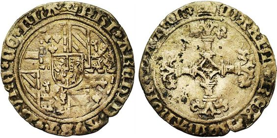 Philip the Handsome (1482-1506), for the County of Flanders, Groot, ND (1489-1492), Bruges Mint. With the title of Maximilian I.