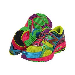 new balance multi color running shoes