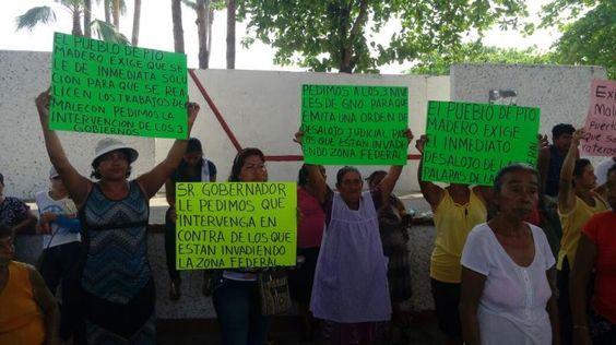 Palaperos y Habitantes de Puerto Madero Respaldan con Marcha la Construcción del Malecón http://bit.ly/1qGrnAC