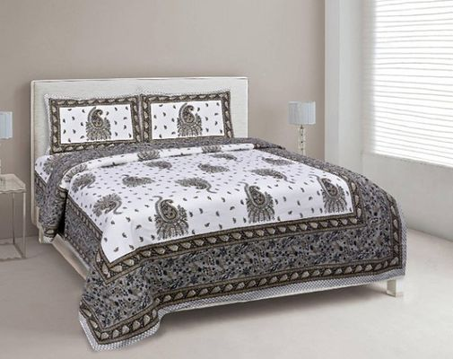Cotton Murugan 90 108 Inch 1 Bedsheet, What Size Is A Double Bed Sheet In Inches