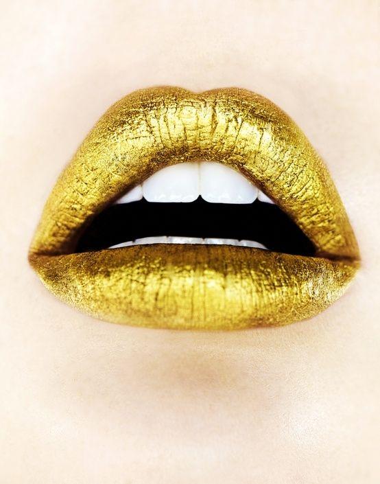 Gold Lipstick Photo Preciousstoneu0026#39;s Photos - Buzznet | Lipstick | Pinterest | Gold Lips Videos ...