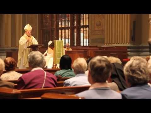 Religious Jubilarian Mass 2013 from  Sunday, Sept. 8 at the Cathedral Basilica