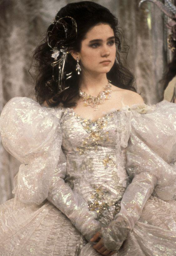 """Jennifer Connelly en """"Dentro del laberinto"""", 1986"""