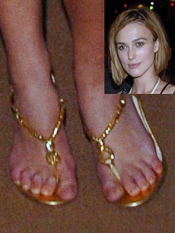 Ugly celebrity feet photo
