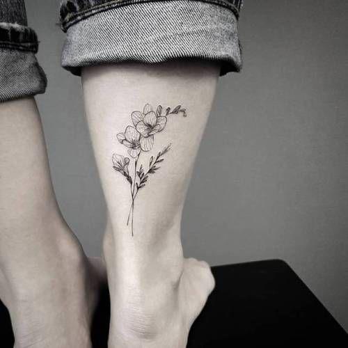 Mis Tatuajes Favoritos Orquideas Tatuaje Tatuajes De Flor Orquidea Tatuaje Pequeno Tobillo