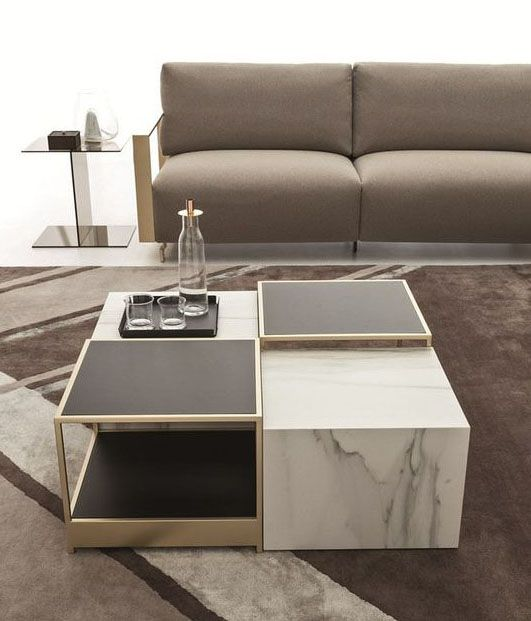 Pin By Nicole On Mebel Coffee Table Centre Table Living Room Modern Square Coffee Table
