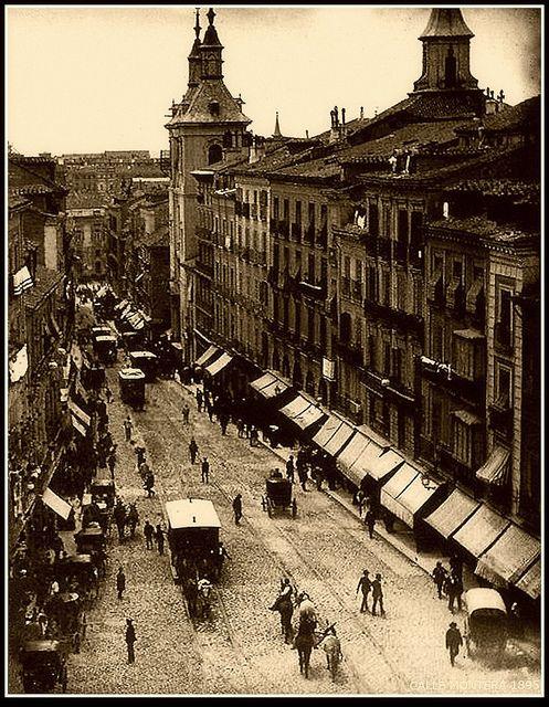 MADRID ANTIGUO CALLE MONTERA 1895 | Flickr: Intercambio de fotos