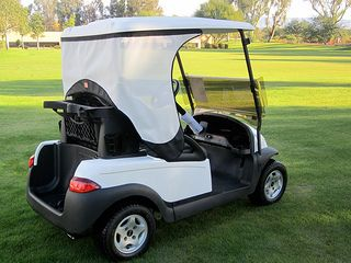 Want to stay cool and comfortable this summer - check out this golf cart accessory.