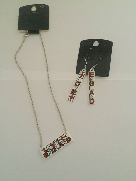 England Necklace&Earrings set