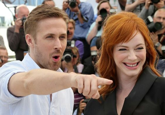 Ryan Gosling & Christina Hendricks