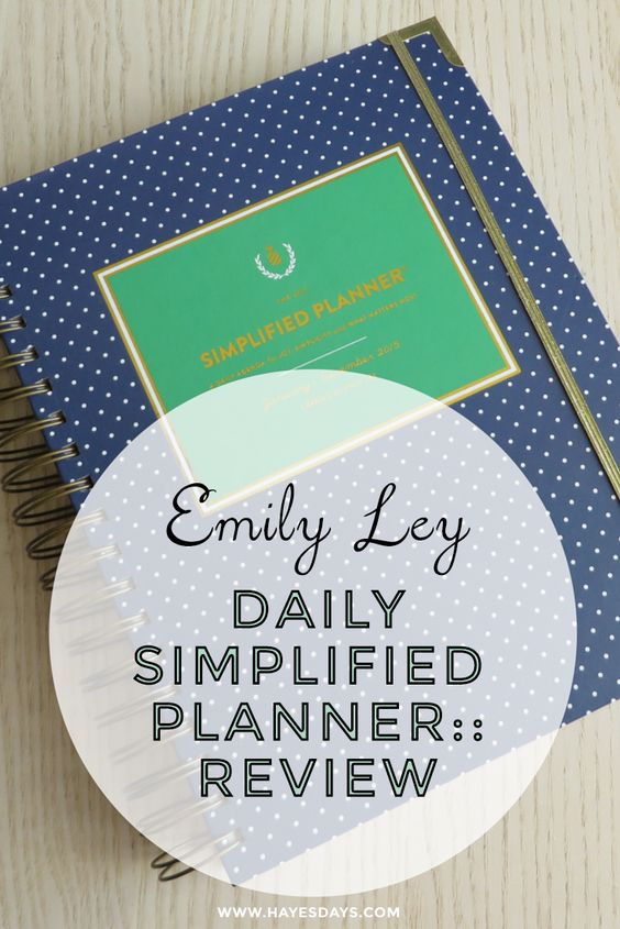 Emily Ley Daily Simplified Planer Review