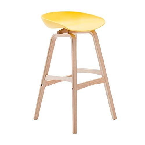 Bar Stools Footrest Wood Backrest Dining Chairs For Kitchen Pub Bar Contemporary Plastic Barstools High Stool Stro Bar Stools Modern Bar Stools Wood Bar Stools