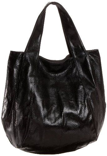 $325.00 Beirn Watersnake Jenna Hobo Bag in Black - The Jenna Bag from Beirn! The great stylish hobo bag made from watersnake skin! http://www.amazon.com/dp/B005I5ERAQ/?tag=pin0ce-20