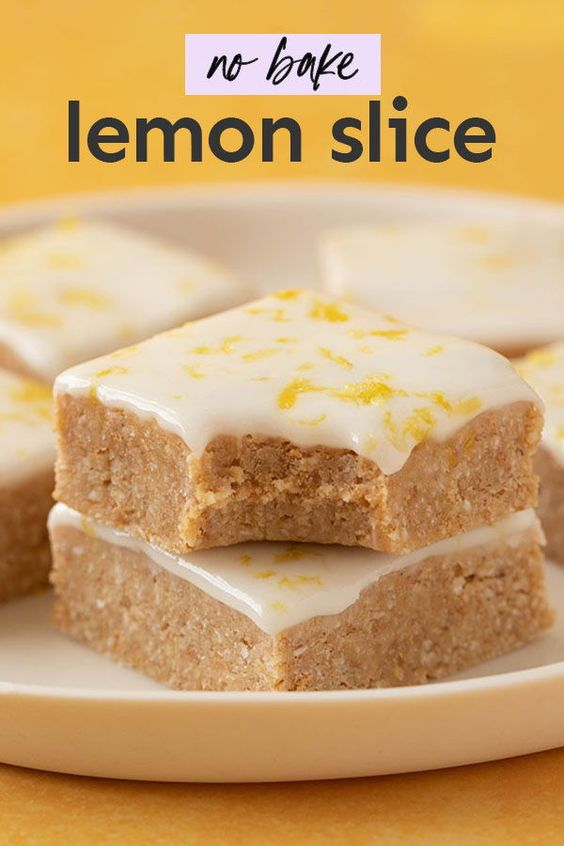 Lemon Slice Recipe No Bake Lemon Slice Classic Dessert Recipe Milk Recipes