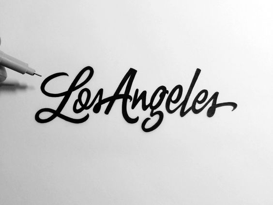 Los Angeles Brush Script by Neil Secretario