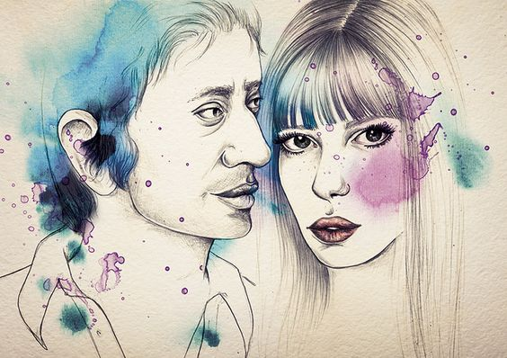 serge-and-jane by Camis Gray, via Flickr