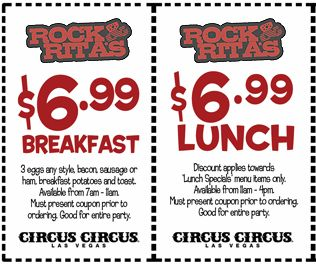 Circus Circus now has an all day buffet deal for $20, this includes unlimited access to the buffet. I guess if you are really hungry, or make sure to eat breakfast, lunch, and dinner it might be worth it.