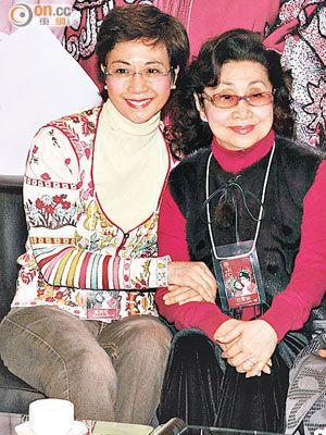 (左)龍劍笙(右)白雪仙