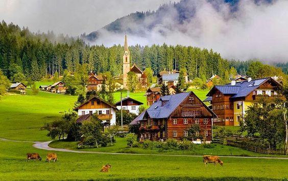 Gosau Village, Austria