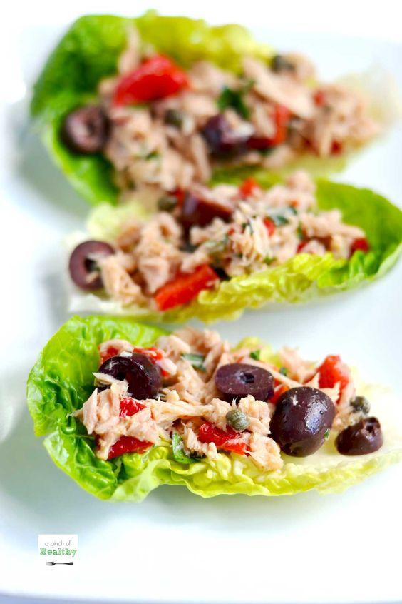 Mediterranean Tuna Salad - delicious and easy lunch recipe ...