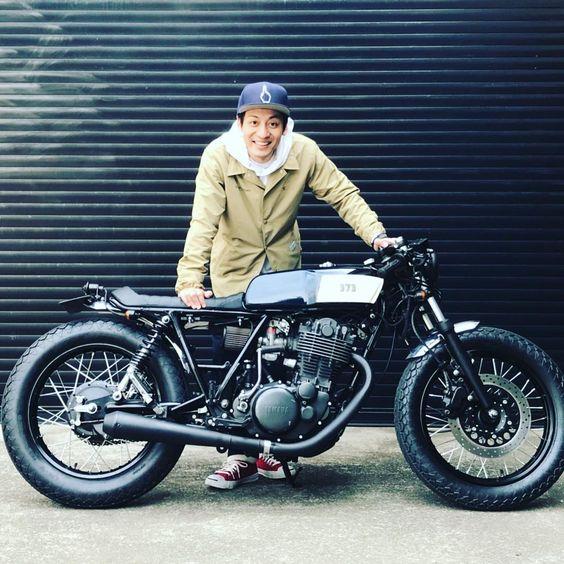 バイクと村田さん