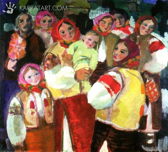 Dedicated to 100-years anniversary of Kotska Andriy - Art Gallery KarpatArt.com: