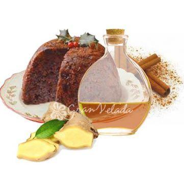 Esencia Aromática de Pudding Navideño, esencia aromática para #hacervelas, #jabones, perfumes, mikados, ambientadores, Disponible en Gran Velada. #diy
